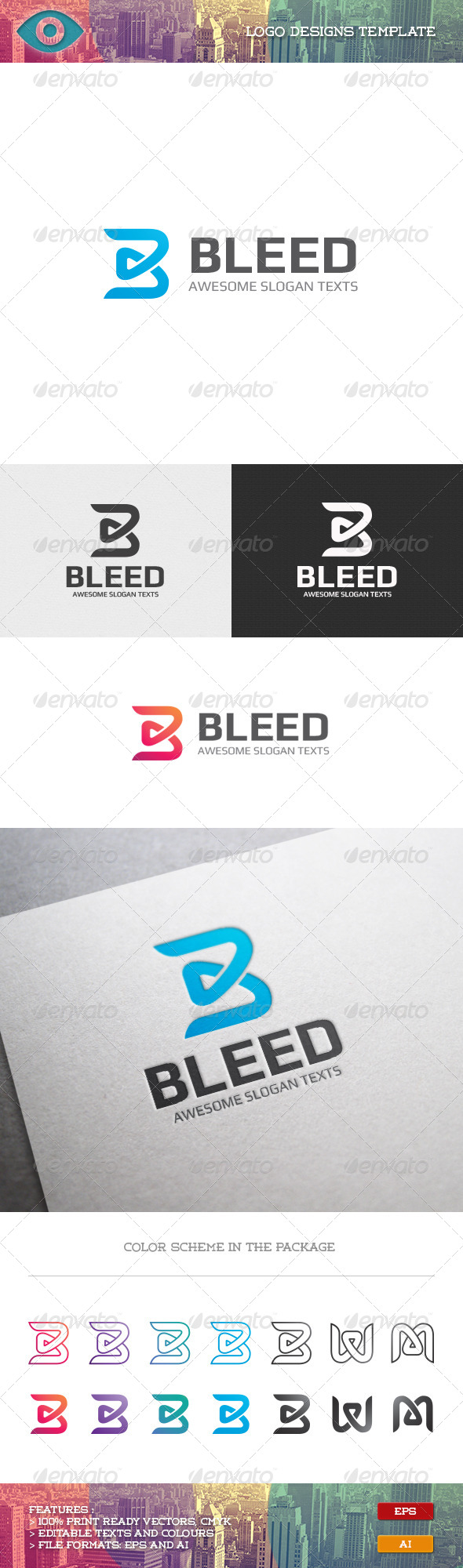 GraphicRiver Bleed 7056059