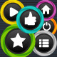 Game Buttons - GraphicRiver Item for Sale