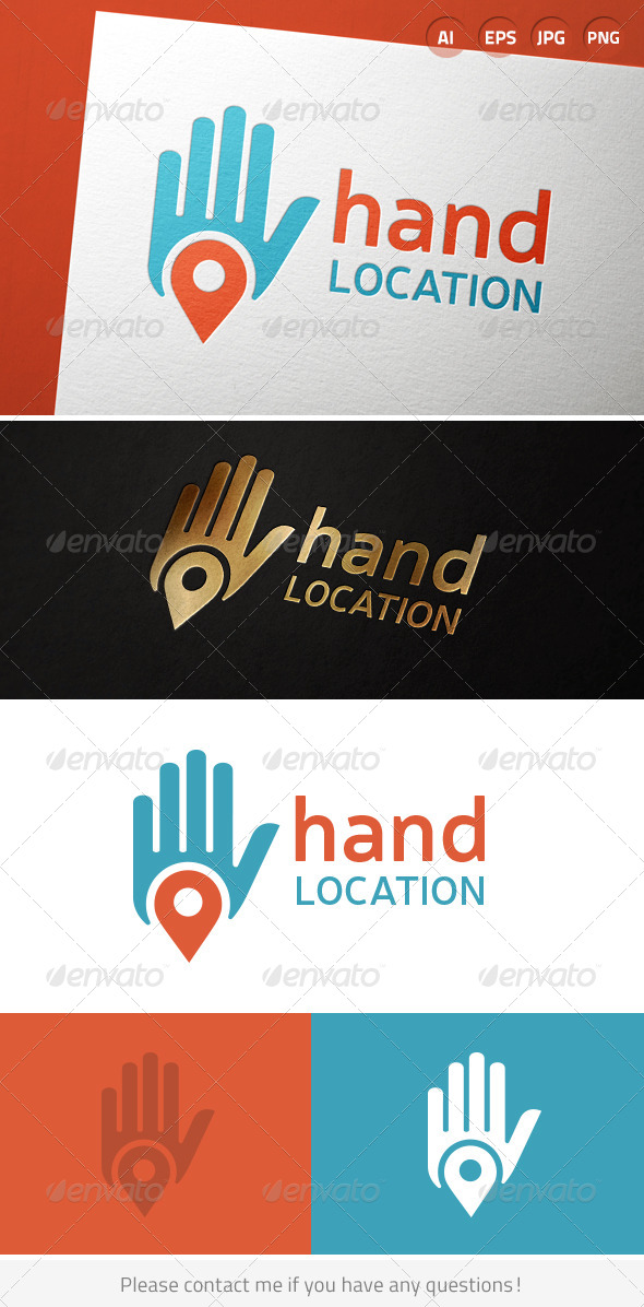 GraphicRiver Hand Location 7056675