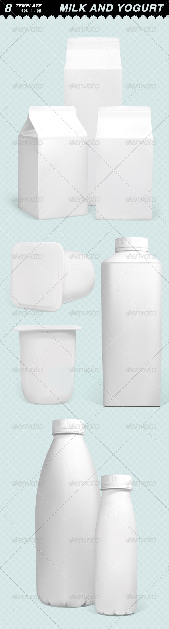 GraphicRiver Milk Box 7057031