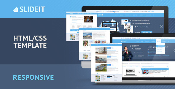 Slideit - Corporate HTML Template