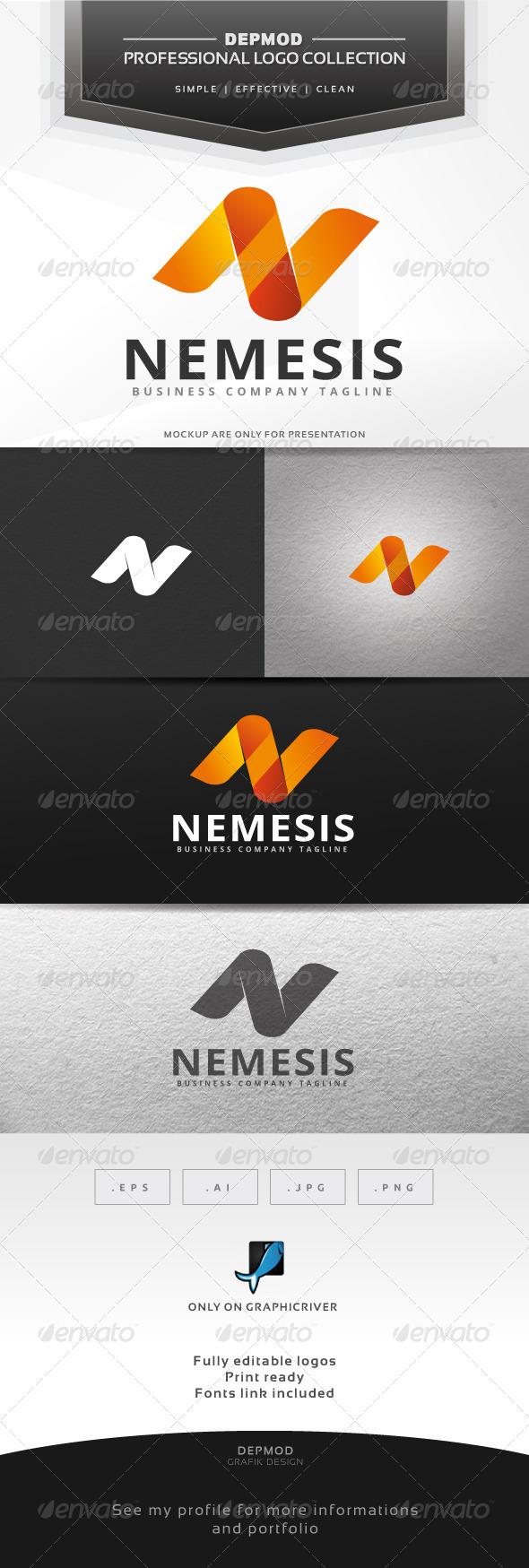 GraphicRiver Nemesis Logo 7057478