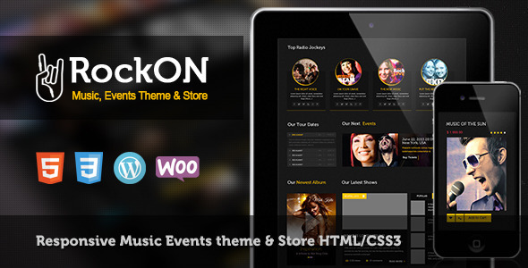 RockOn - Multipurpose Music WP Theme - Music and Bands Entertainment