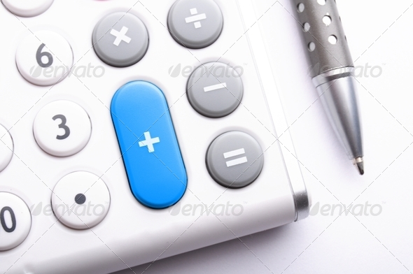 Stock Photo - PhotoDune calculator 752739