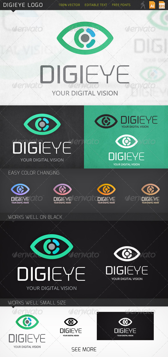 GraphicRiver Digieye Logo 7058686