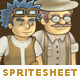 Character Spritesheet 2 HD - GraphicRiver Item for Sale
