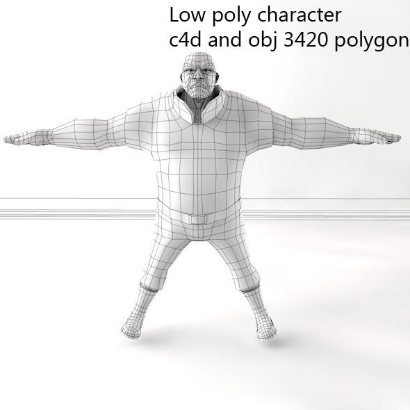 3DOcean Man Character 7059093