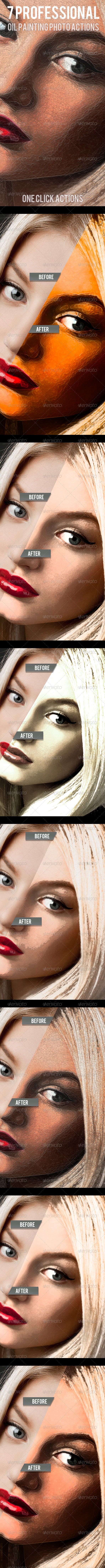 GraphicRiver 7 Oil Paint Photo Actions 7059210