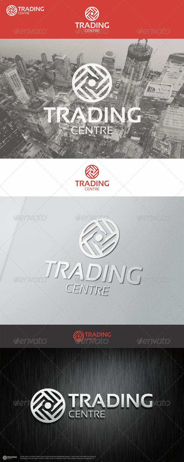 Trading Centre Logo - Vector Abstract