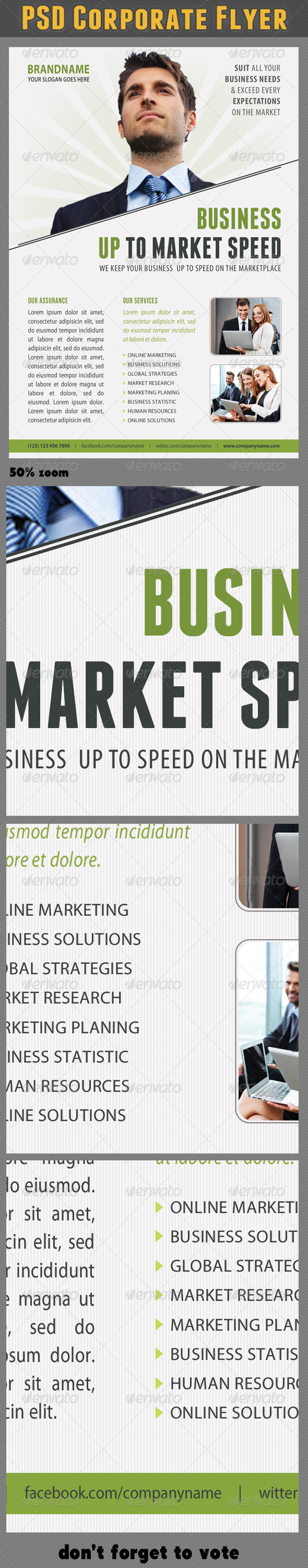 Corporate Product Flyer 65 - Corporate Flyers
