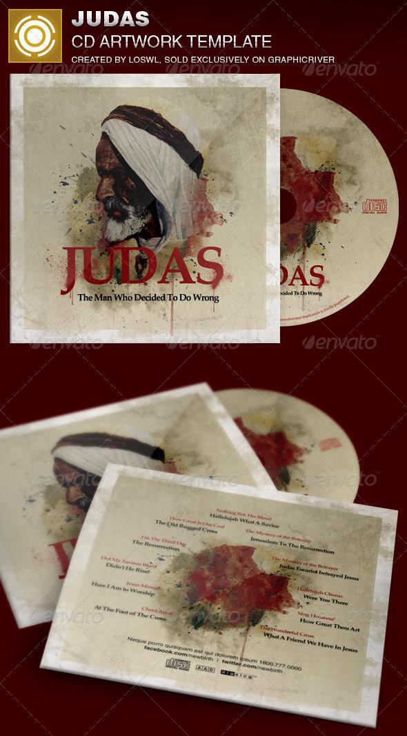 GraphicRiver Judas CD Artwork Template 7059643