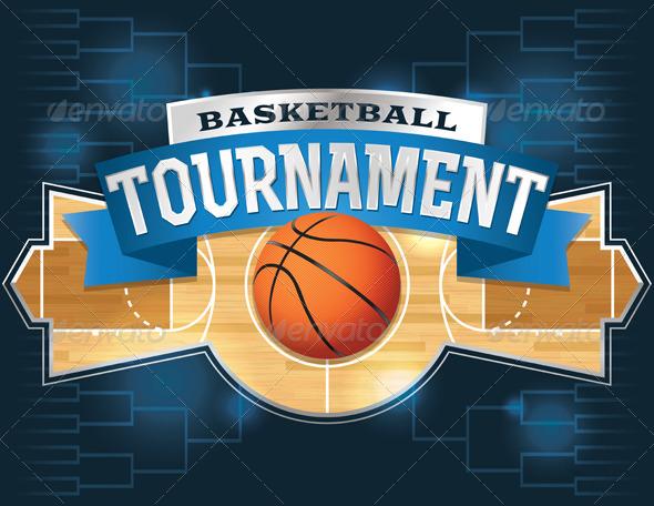 basketball tournament program template - basketball tournament design graphicriver