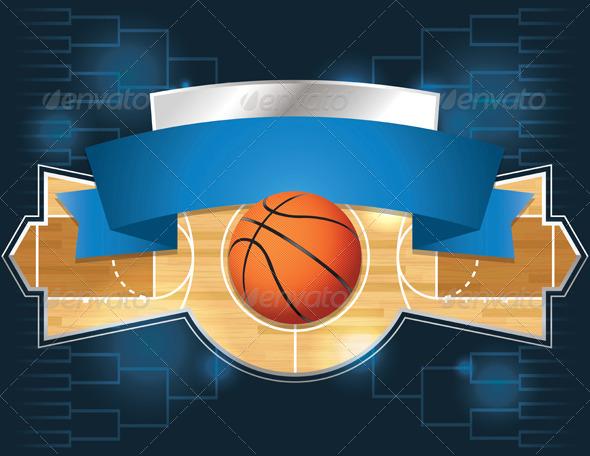 GraphicRiver Basketball Tournament Design 7059769