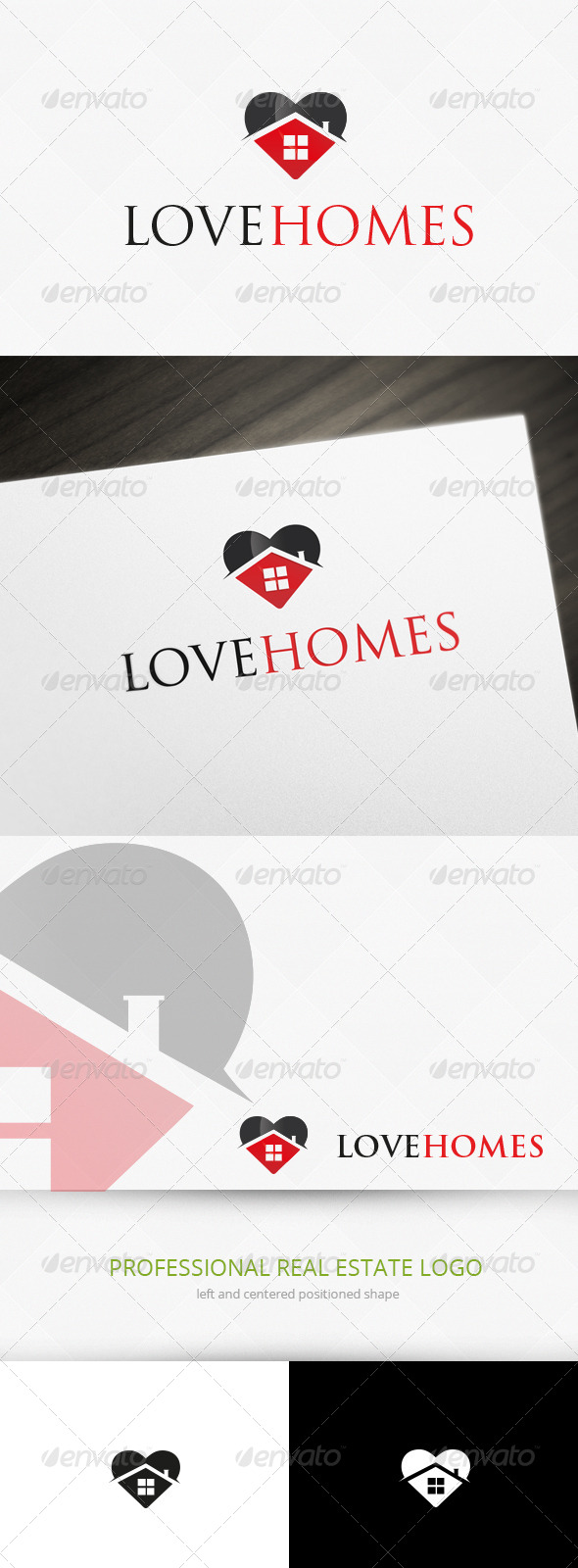 GraphicRiver Home Love Logo Template 7060263