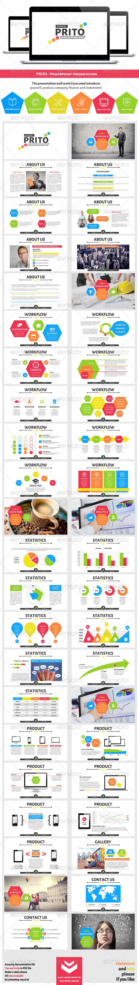 GraphicRiver Prito Powerpoint Presentation 7060267