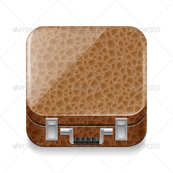 GraphicRiver Leather Suitcase 7060781
