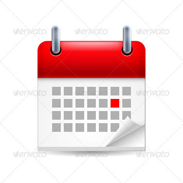 GraphicRiver Calendar Icon 7060788