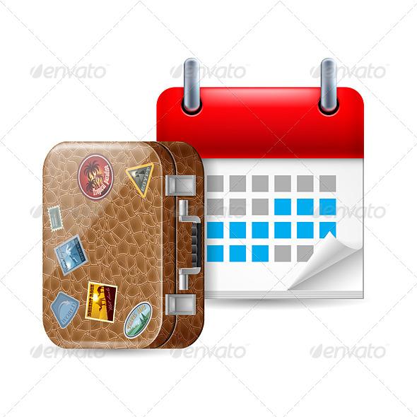 GraphicRiver Vacation Icon 7060791