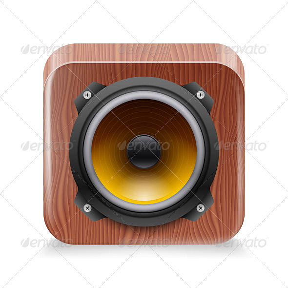 GraphicRiver Sound Icon 7060792