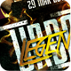 Urban Legends Music Dance Party Flyer Template - GraphicRiver Item for Sale