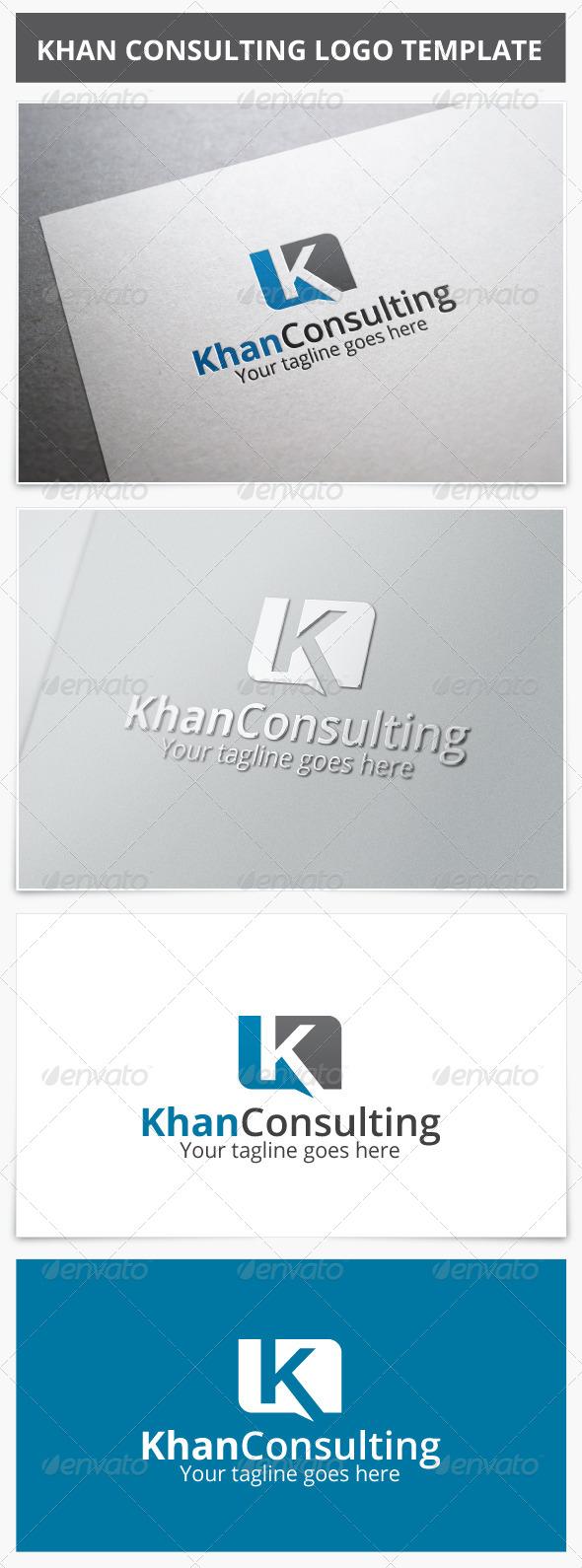GraphicRiver Khan Consulting Logo 7061169