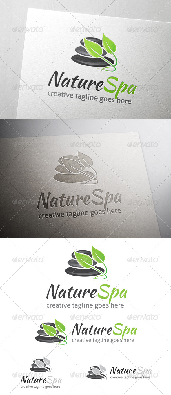 GraphicRiver Nature Spa Logo 7061183