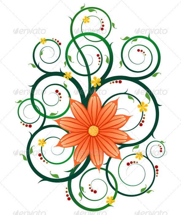 GraphicRiver Floral Ornament 7061213