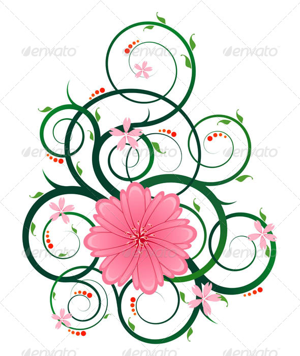 GraphicRiver Floral Ornament 7061217