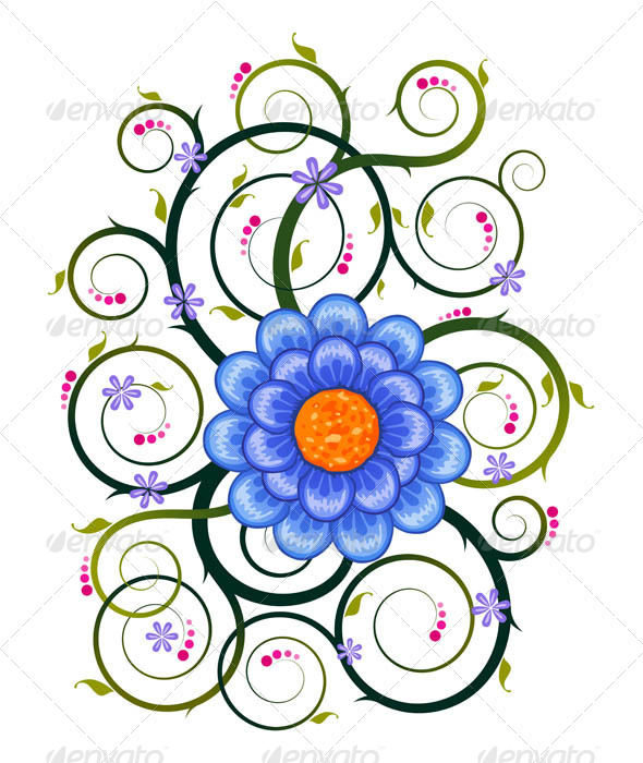 GraphicRiver Floral Ornament 7061224