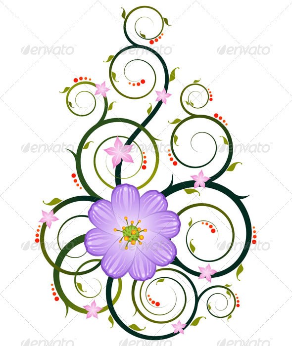 GraphicRiver Floral Ornament 7061232