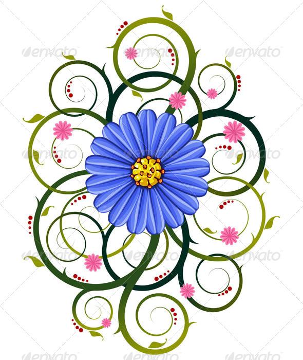 GraphicRiver Floral Ornament 7061236