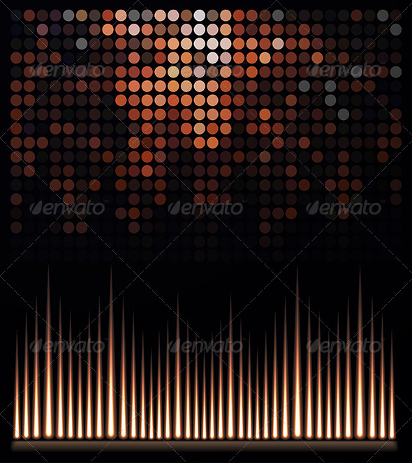 GraphicRiver Abstract Music Equalizer 7061656