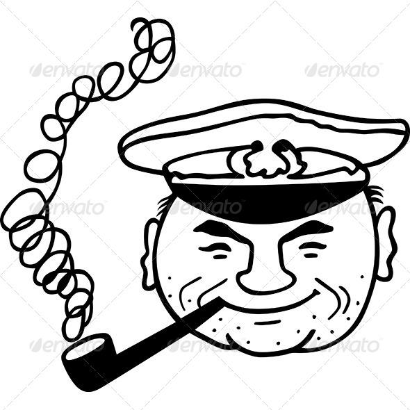 GraphicRiver Happy Captain 7061853