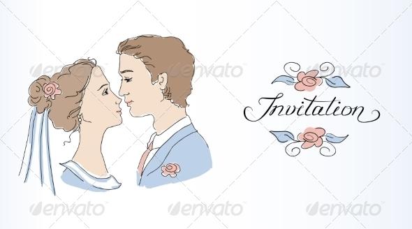 GraphicRiver Wedding Invitation 7061868