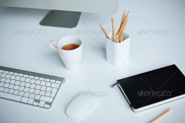 Workplace - Stock Photo - Images