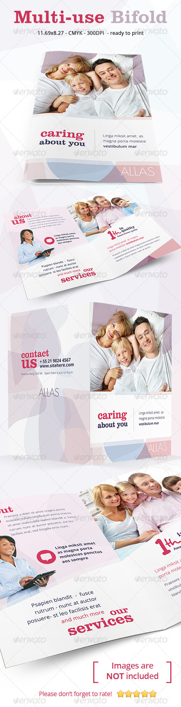 GraphicRiver Multiuse Clean Bifold 7032392