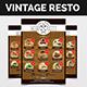 Vintage Resto Flyer