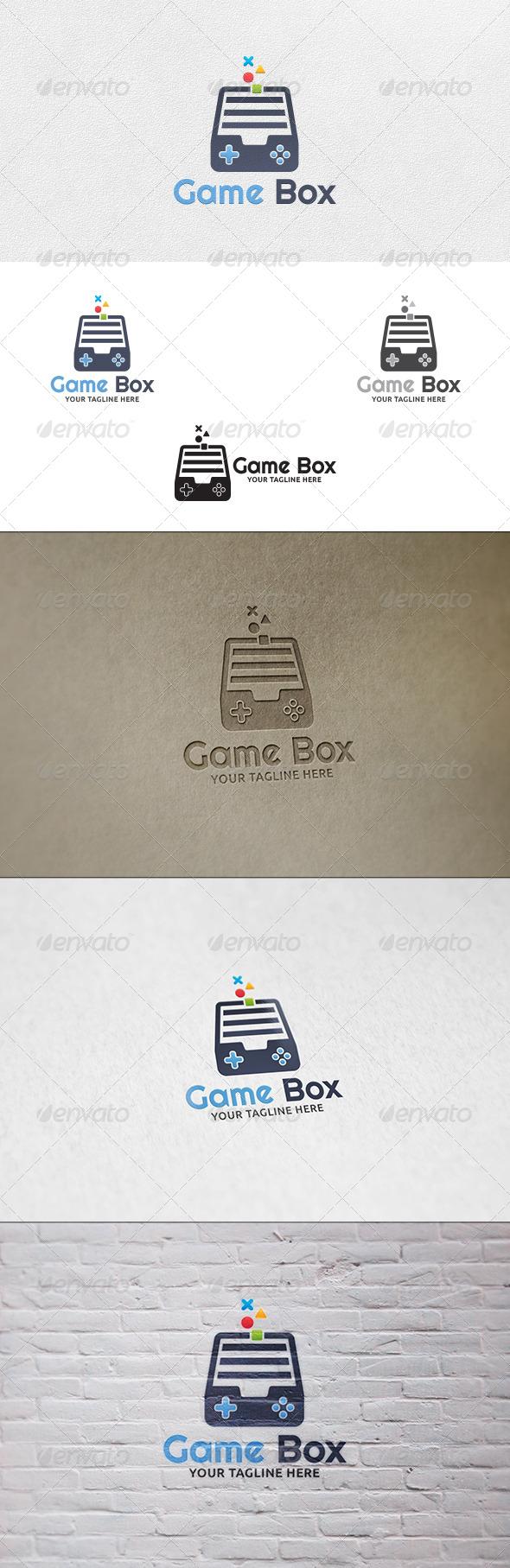 GraphicRiver Game Box Logo Template 7063085