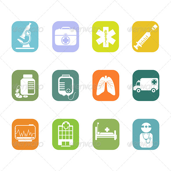 GraphicRiver Medical Icons 7063162
