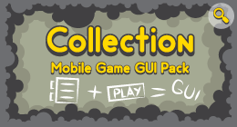 Collection Mobile Game GUI Pack