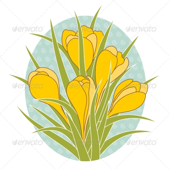 GraphicRiver Crocus Flowers 7063288