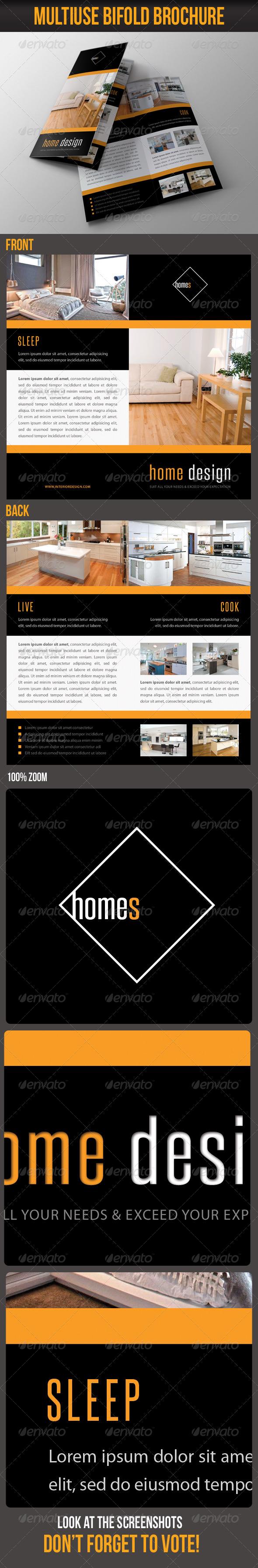 GraphicRiver Multiuse Bifold Brochure 55 7063316