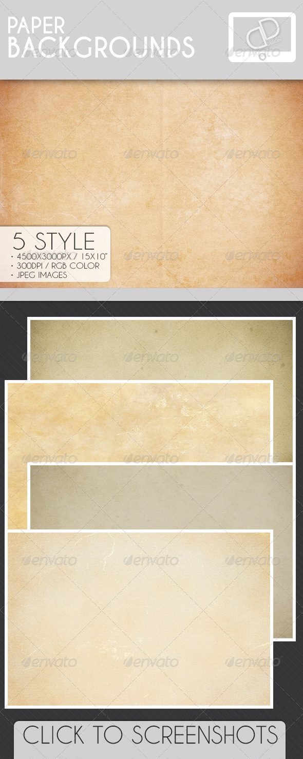 GraphicRiver Paper Backgrounds 7063980