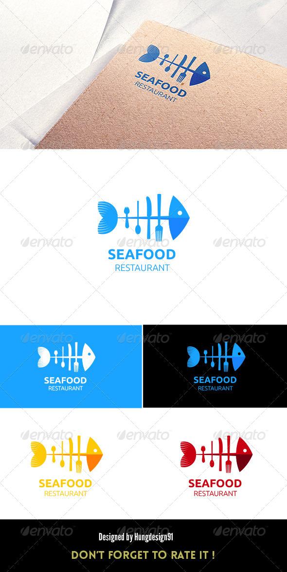 GraphicRiver Sea Food Restaurant Logo Template 7064016