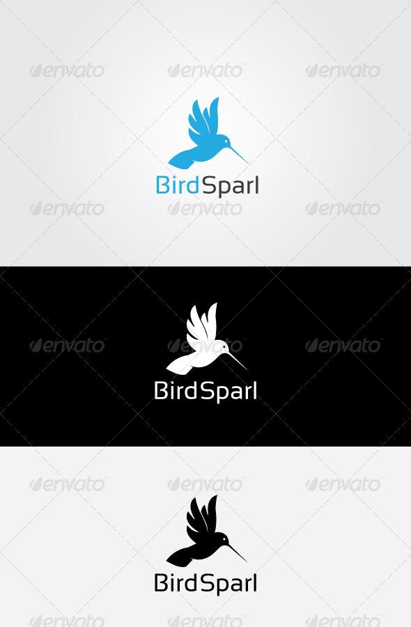 GraphicRiver Bird Sparl Logo 7064059