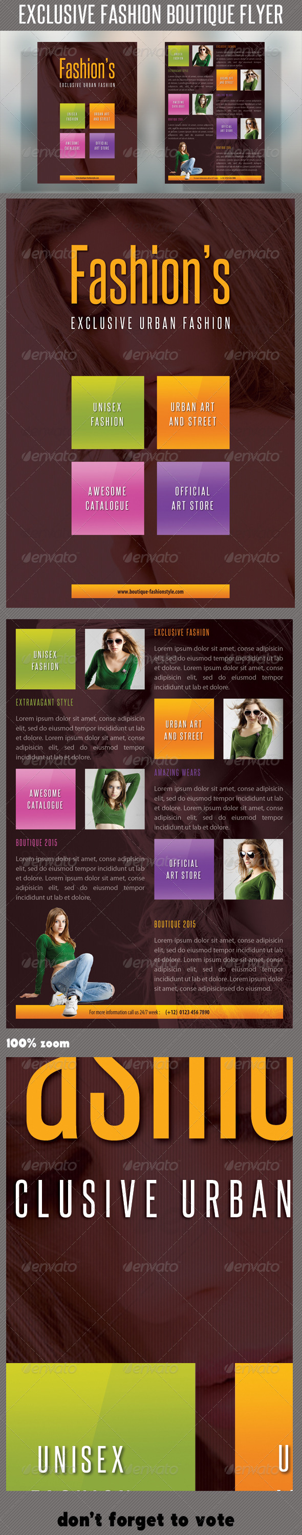 GraphicRiver Fashion Product Flyer 42 7064076
