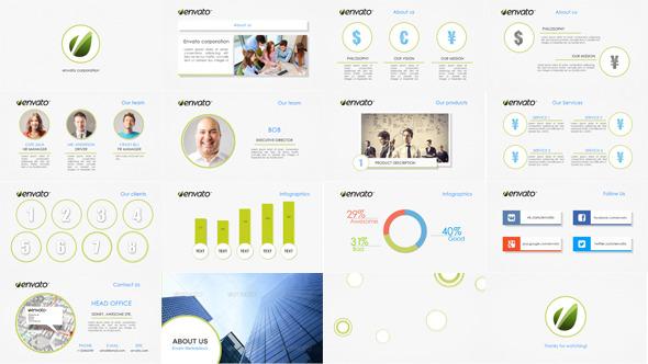 Clean Corporate Presentation