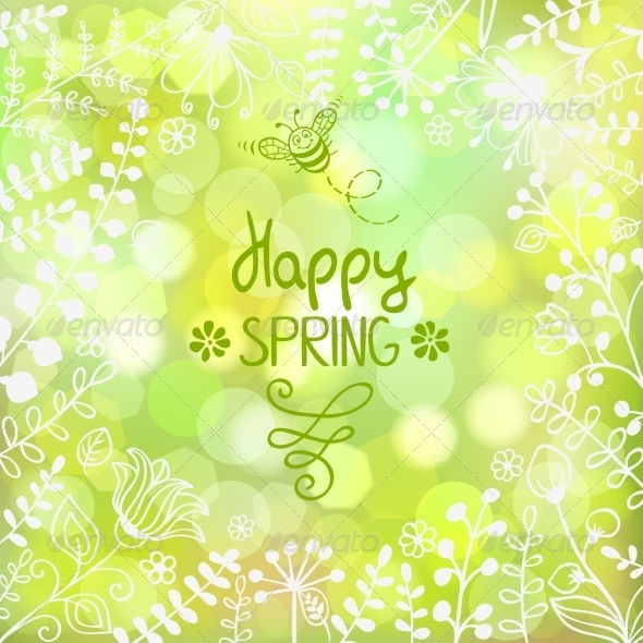 GraphicRiver Spring Background 7064974