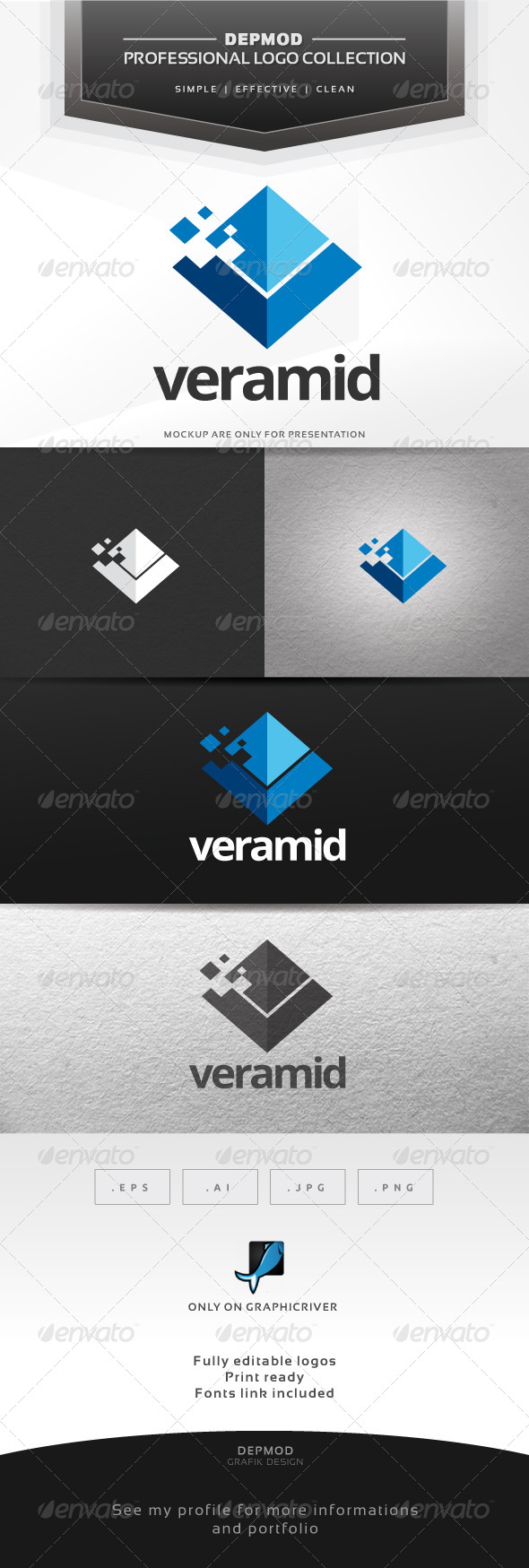 GraphicRiver Veramid Logo 7065115