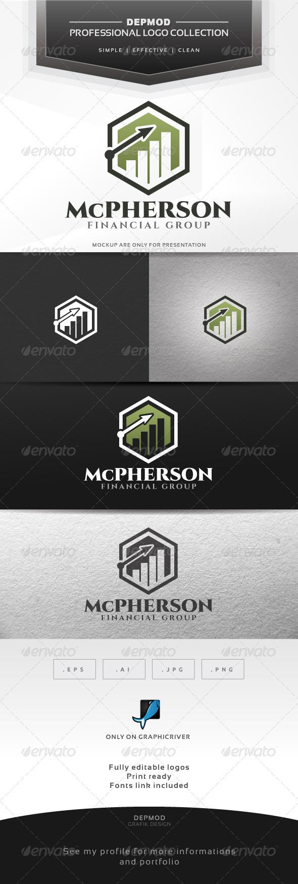GraphicRiver McPherson Logo 7065139